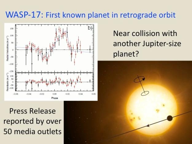 WASP-17b, a retrograde planet