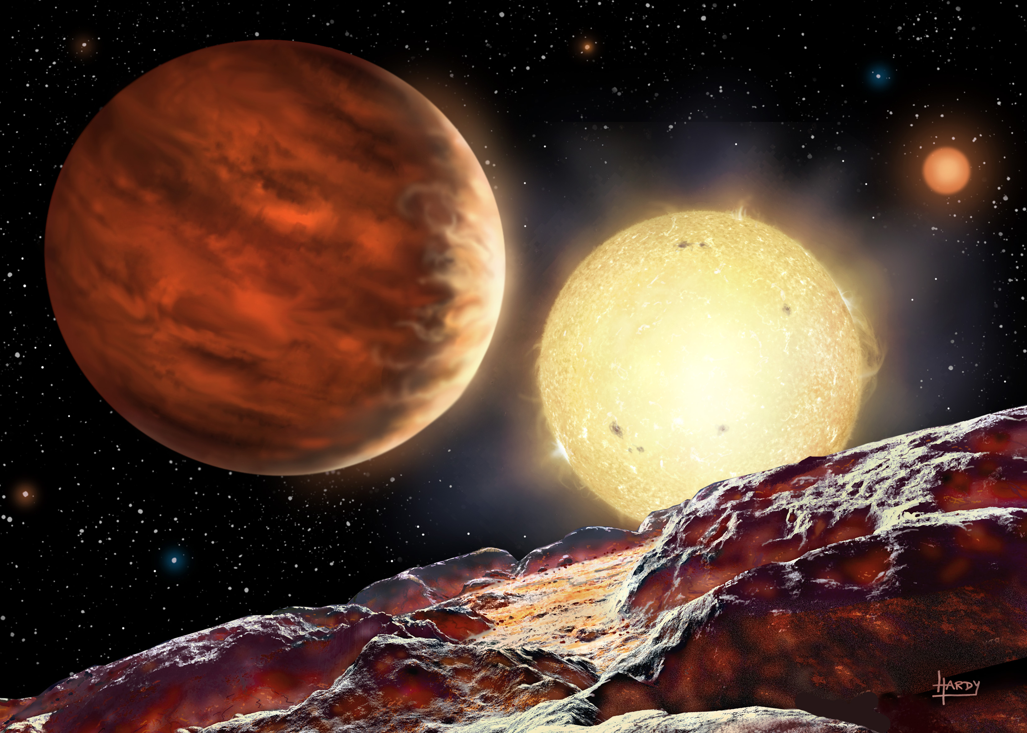 15-yr-old work-experience schoolboy discovers a new planet ...