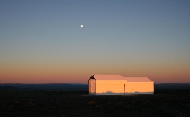 WASP-South at dusk